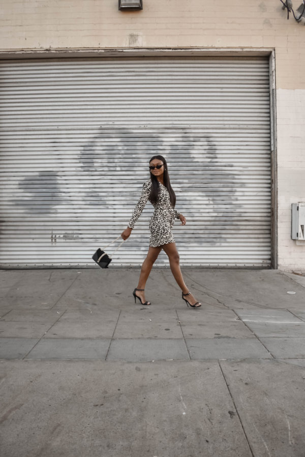 Leopard Print Dress with Topshop - Chanfetti Blog