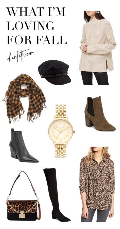 What I'm Loving for Fall - Chanfetti Blog