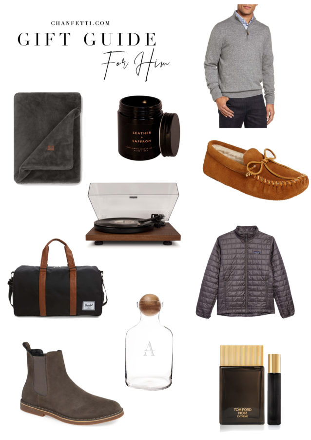 Gift Guide 2018: For Him - Chanfetti Blog