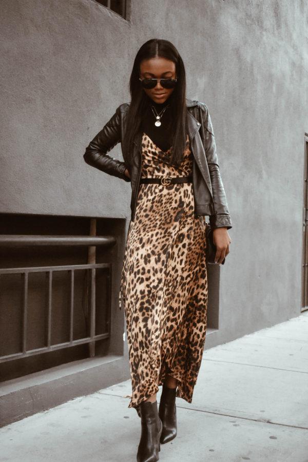 3 Ways to Style a Leopard Print Dress - Chanfetti Blog