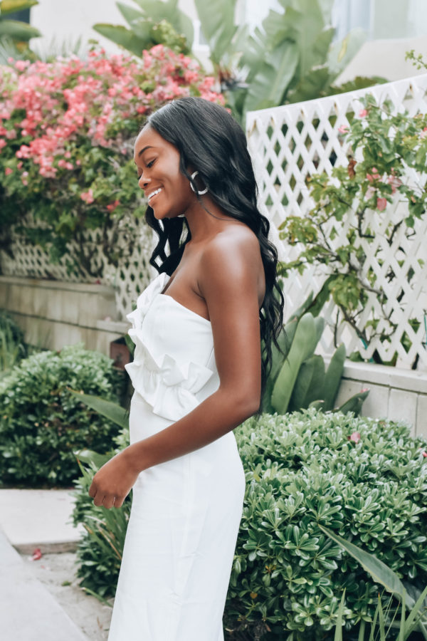Late Nights and Summer Whites Chanfetti blog by Brenna Anastasia