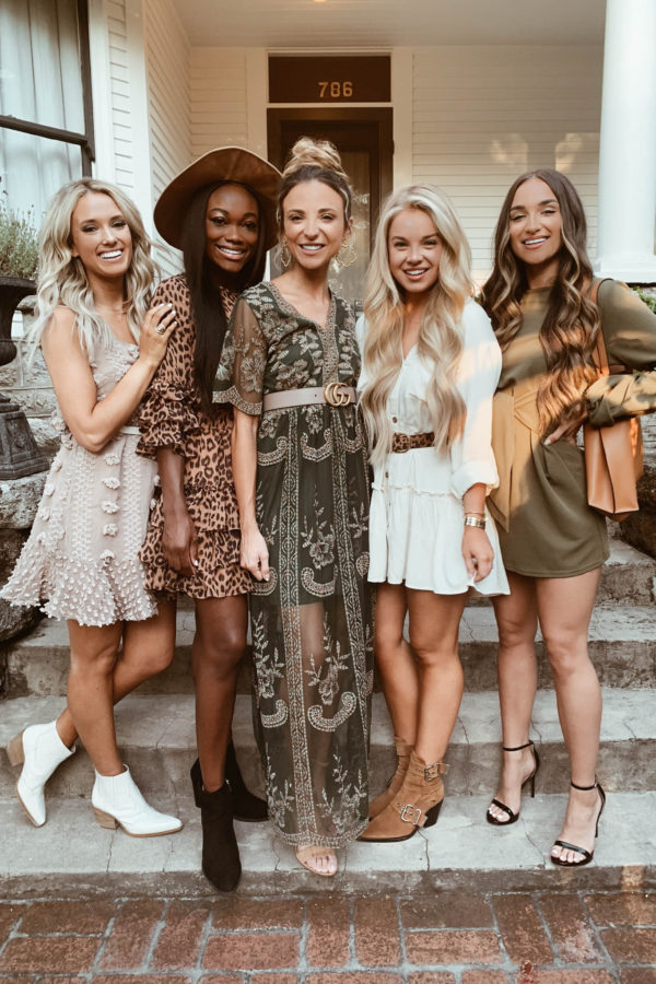 Napa Valley with Shop the Mint Emily Herren, Brenna Anastasia, Dani Austin, Maddie Duff, Savannah Rose - Chanfetti Blog