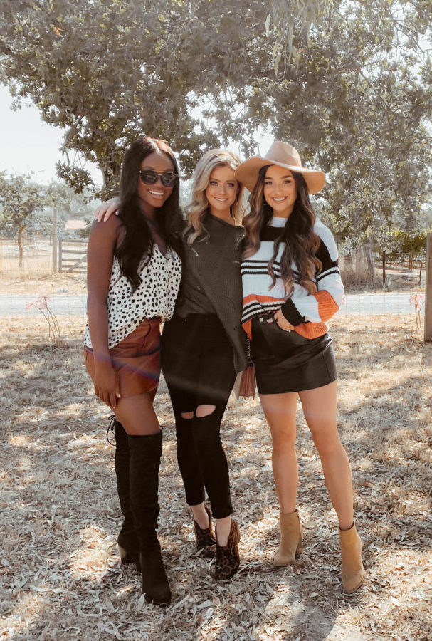 Napa Valley with Shop the Mint Brenna Anastasia, Hannah Godwin, Savannah Rose - Chanfetti Blog