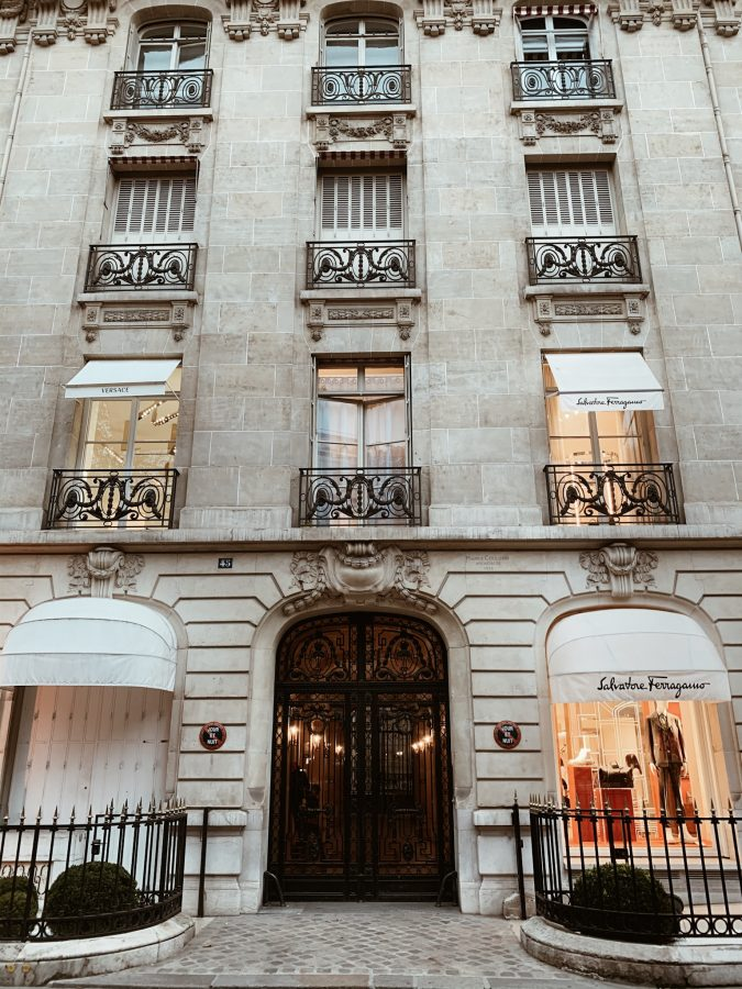 Shopping in Paris - Brenna Anastasia