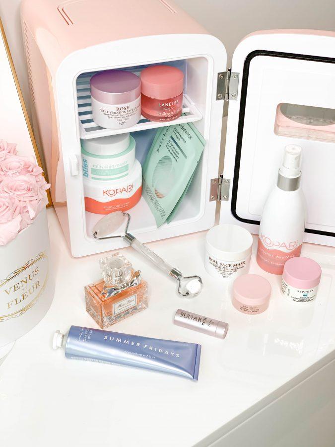 What's In My Skincare Fridge - Brenna Anastasia