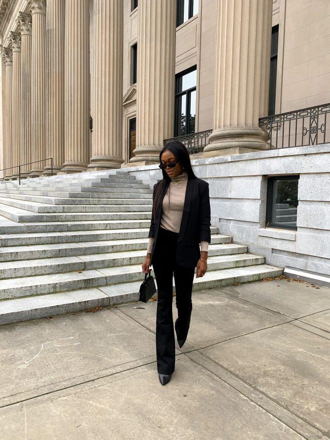 Blazer Outfit Brenna Anastasia Blog