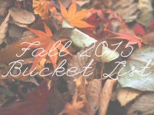 Fall2015BucketList