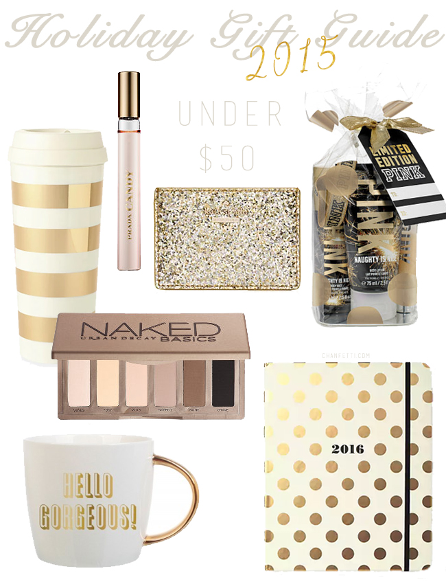 Holiday Gift Guide for Her: Under $50