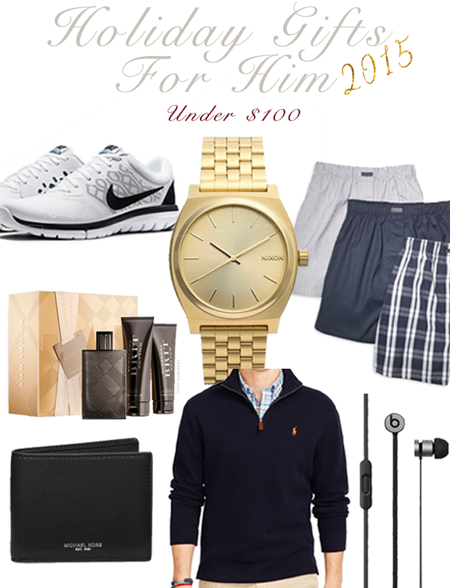 Holiday Gift Guide for Him: Under $100