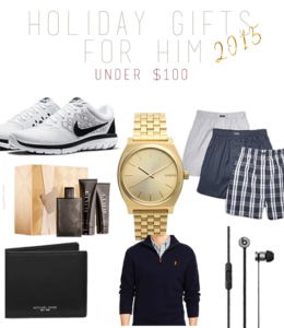 Holiday Gifts for Him 2015