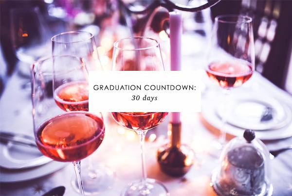 Graduation Countdown: 30 days