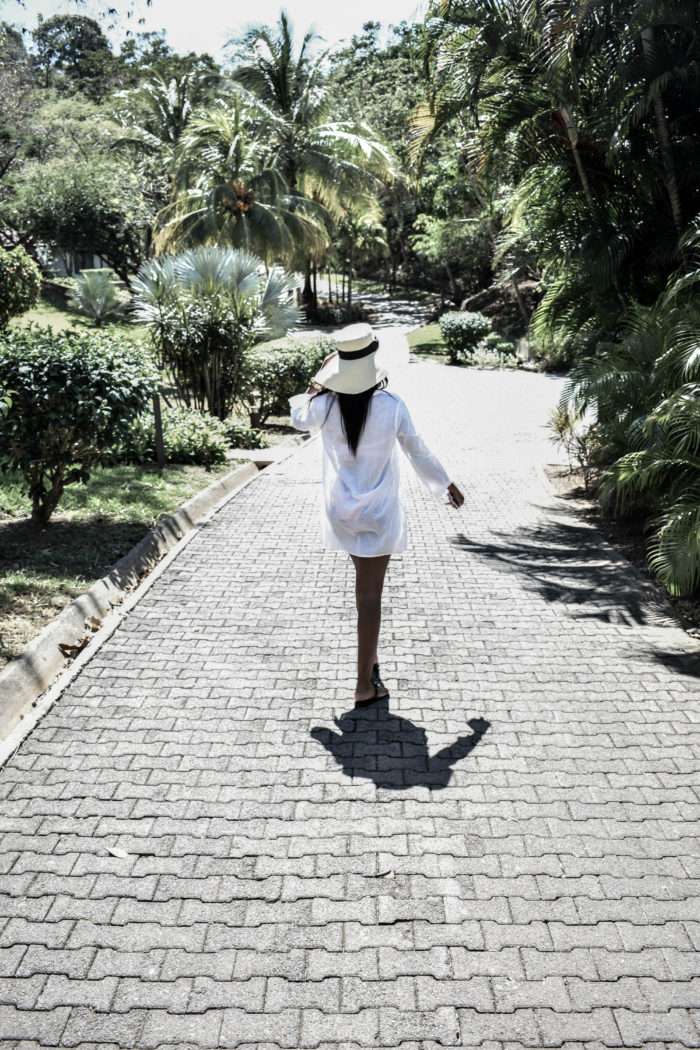 Costa Rica White Beach Cover Up - Chanfetti