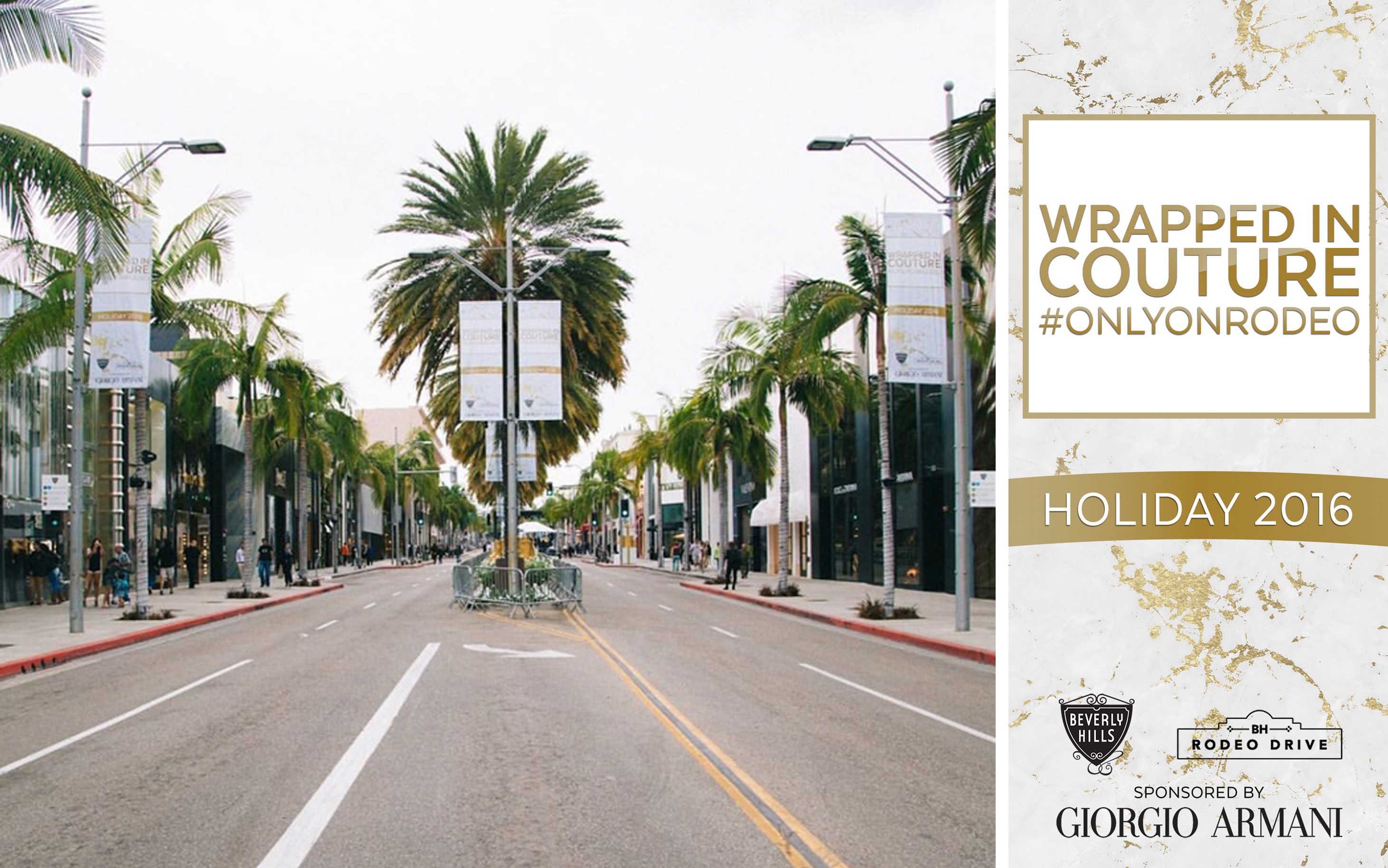Rodeo Drive Holiday 2016 Banner