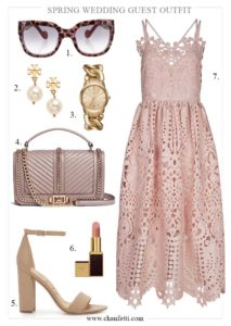 Spring Wedding Guest Outfit - Chanfetti