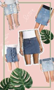 Denim Skirts