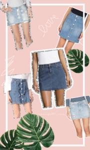 Denim Skirts 2017