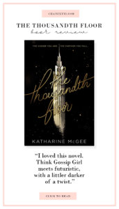 Book Review - The Thousandth Floor - Chanfetti