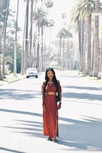 Beverly Hills in Merlot Red