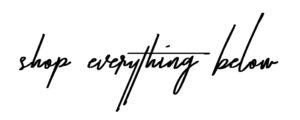 shop everything below - chanfetti