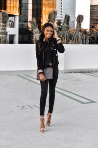 Black Velvet Jacket with Passementerie