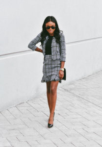 Tweed Two-Piece Set Under $30