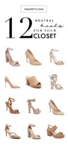 12 Neutral Heels For Your Closet
