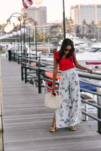 Red At The Marina