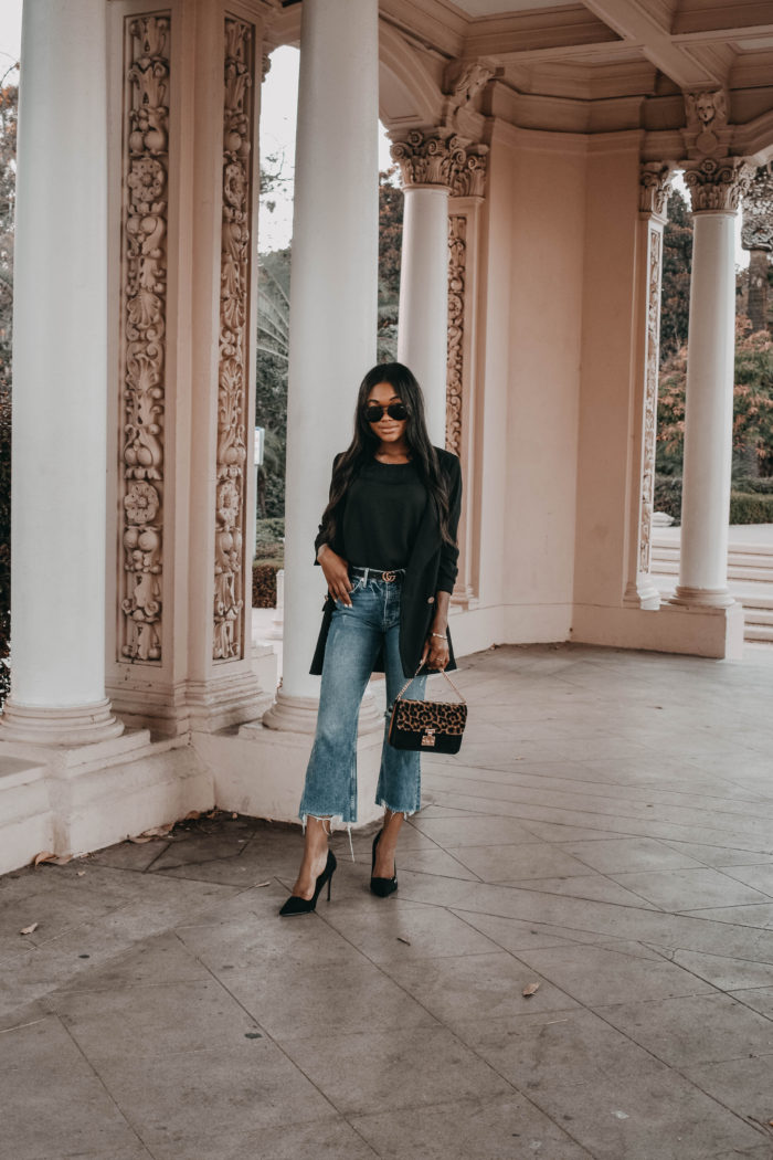Casual Blazer Look for Fall - Chanfetti Blog