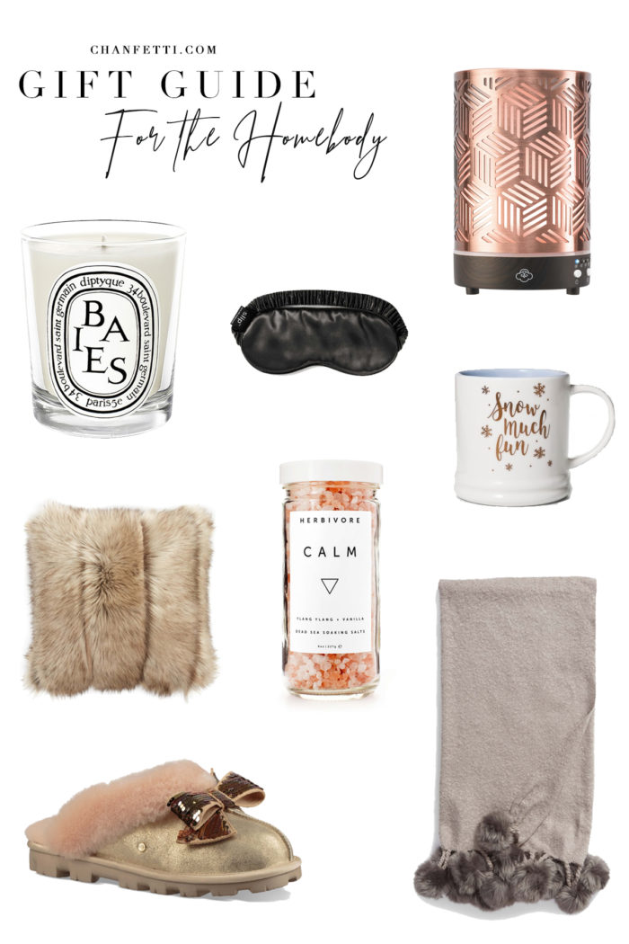 Gift Guide 2018: For the Homebody - Chanfetti Blog