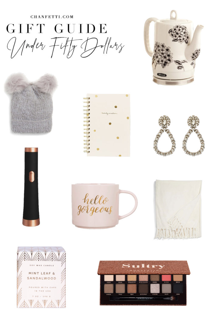 Gift Guide 2018: Under $50 - Chanfetti Blog
