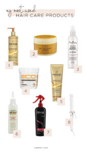 My Most-Used Hair Care Products - Chanfetti Blog
