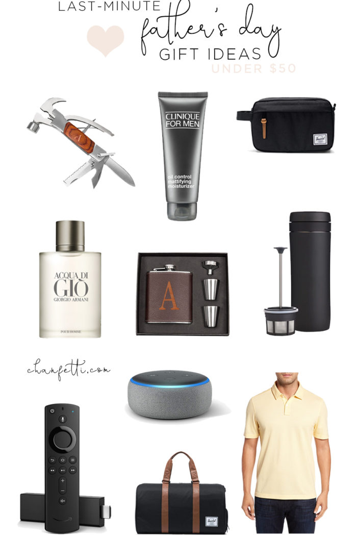 Last Minute Father's Day Gifts Under $50
