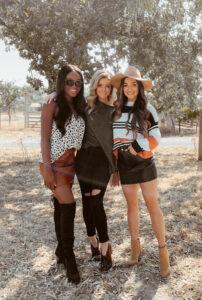 Napa Valley with Shop the Mint Brenna Anastasia, Hannah Godwin, Savannah Rose - Chanfetti Blog