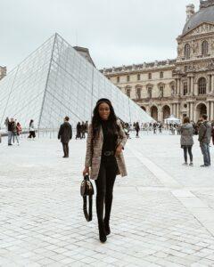 What I Wore in Paris - Brenna Anastasia