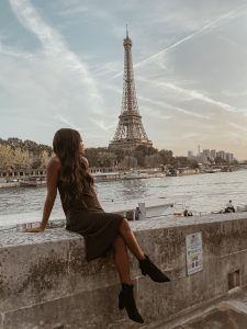 What I Wore in Paris - Brenna Anastasia