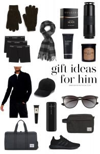 Holiday Gift Guide 2019: Gifts for Him - Brenna Anastasia Blog