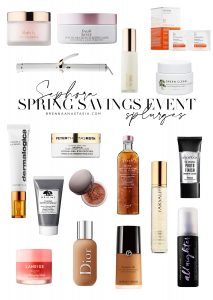 Sephora Spring Savings Event Splurges - Brenna Anastasia