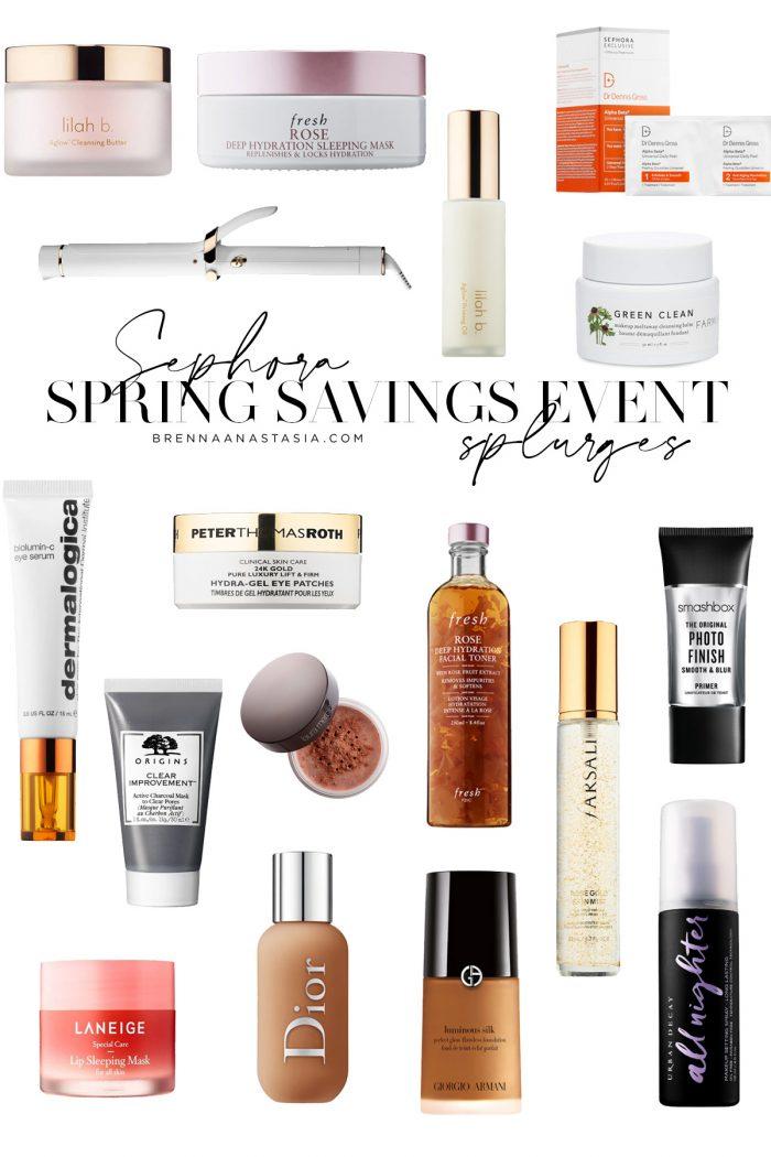 Sephora Spring Savings Event Splurges