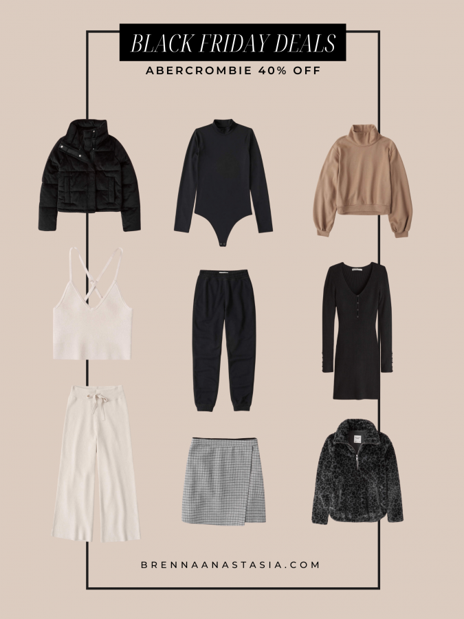 Black Friday Sales I'm Shopping - Abercrombie & Fitch - Brenna Anastasia Blog