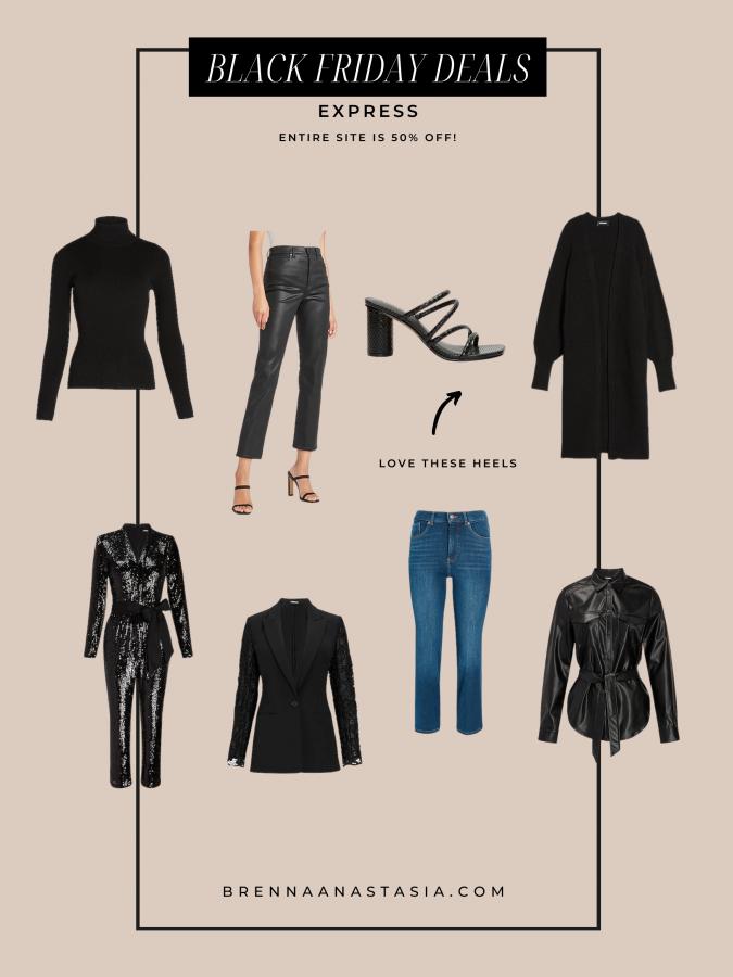 Black Friday Sales I'm Shopping - Express - Brenna Anastasia Blog