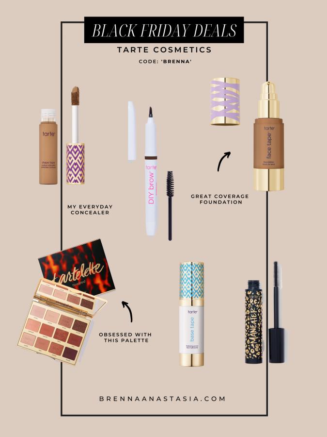 Black Friday Sales I'm Shopping - Tarte Cosmetics - Brenna Anastasia Blog