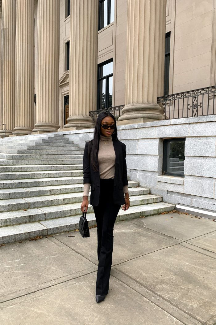 Black Blazer Outfit from Walmart Fashion