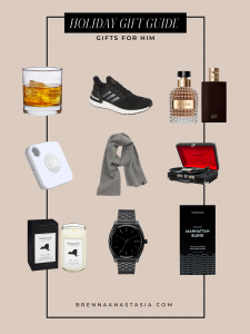 Holiday Gift Guide: Gift Ideas for Him - Brenna Anastasia Blog