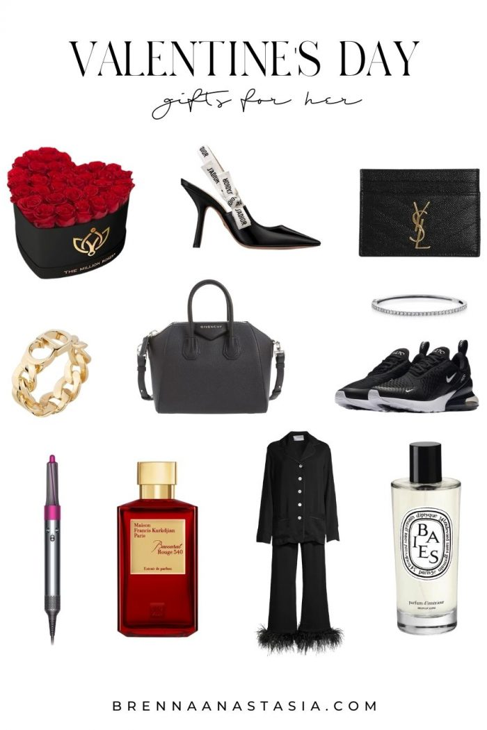 Valentine's Day Gifts for Her 2021 - Brenna Anastasia Blog