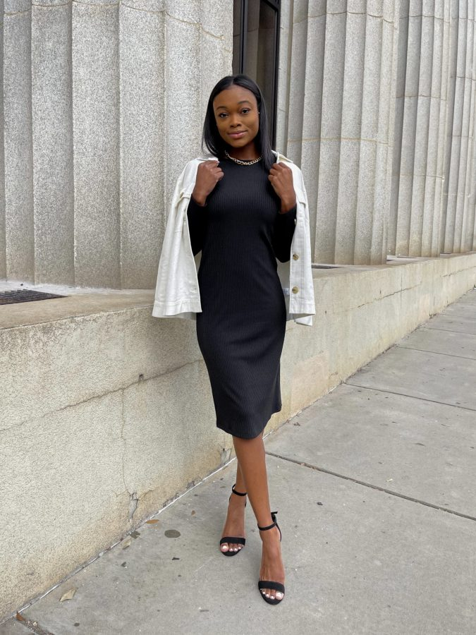The Versatile Midi Dress You Need this Spring - Brenna Anastasia Blog