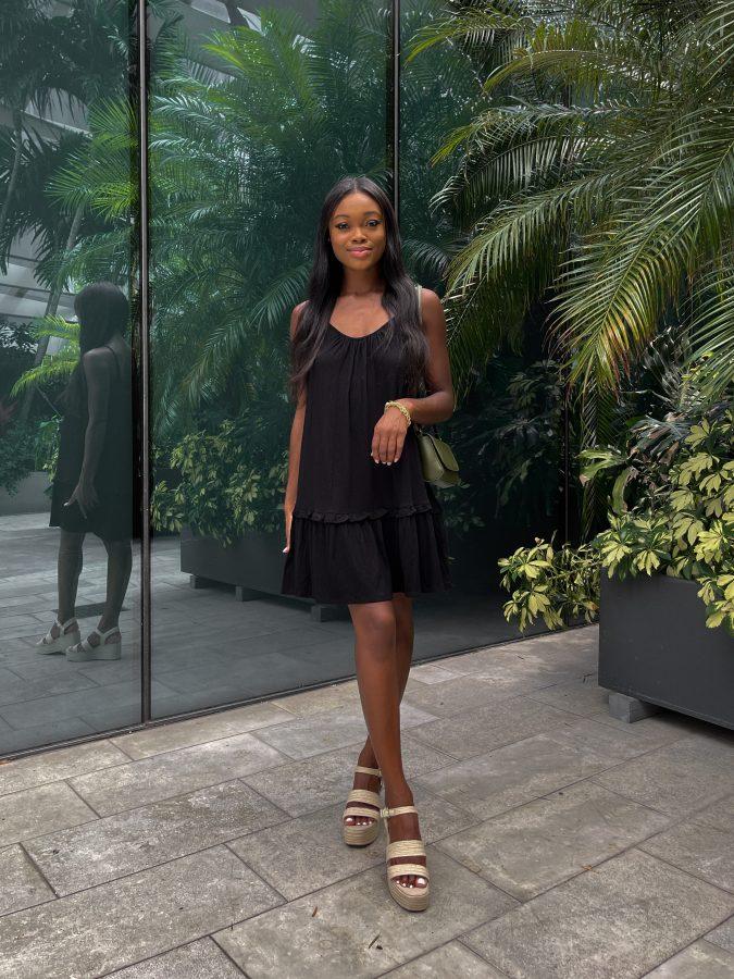 Classic Black Sundress from Walmart Fashion - Brenna Anastasia Blog