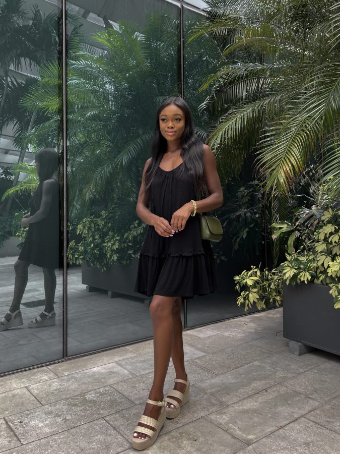 Classic Black Sundress - Brenna Anastasia Blog