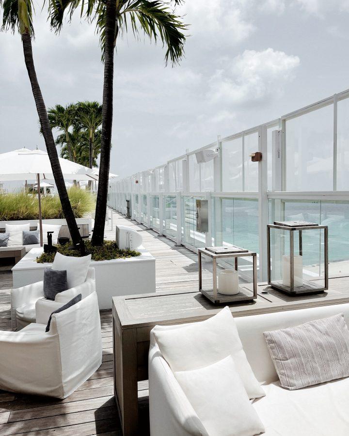 Watr at the 1 Hotel Rooftop Miami - Brenna Anastasia Blog