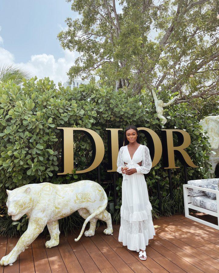 Dior Café Miami - Brenna Anastasia Blog