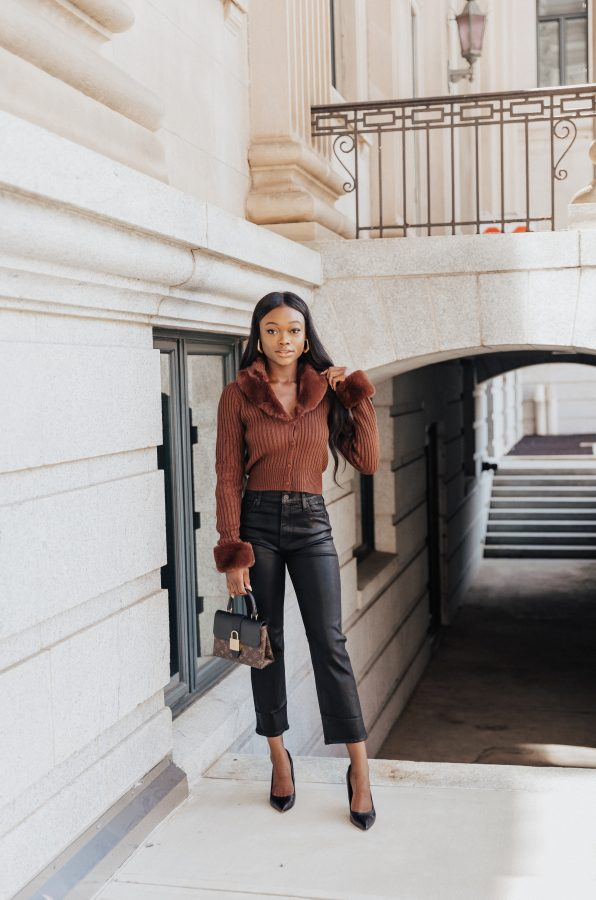 Fall Outfit Inspiration: Styling Straight-Leg Jeans - Brenna Anastasia Blog